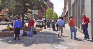 Outreach with Mesa Hills Bible Church in Colorado Springs downtown
