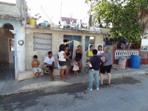 Connie witnessing in Cozumel Mexico